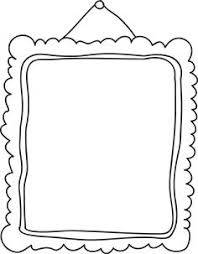 coloring pages printable photo frames printableframe coloring