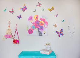 butterfly wall decals butterfly bedroom ideas naptime reviewer