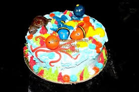 sea fish theme cakes for kids in noida online fish cake for kids