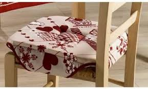 galette de chaise alinea décoration galette de chaise avec rabat 91 brest galette de