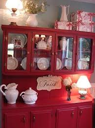best 25 red hutch ideas on pinterest painted china hutch
