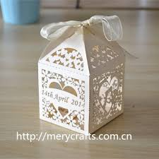 personalized favor boxes 200pcs lot laser cut ivory favor box personalized wedding box