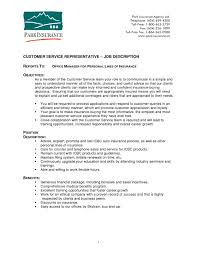 customer service duties resume resume template and professional