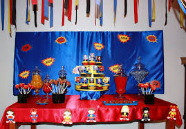 Superman Birthday Party Decoration Ideas Top 5 Themes For Birthday Boys Blog Partitoe