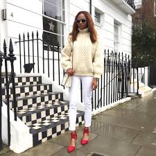 styling a cable knit jumper symphony of silk