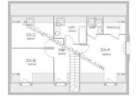 plan de maison 4 chambres gratuit exceptional plan maison etage 4 chambres gratuit 2 plan maison