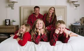 sleepytimepjs family matching plaid thermal pajamas