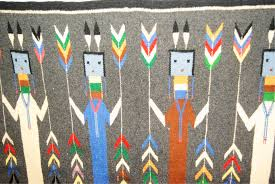 Navajo Home Decor by Mid Century Navajo Yei Rug Omero Home