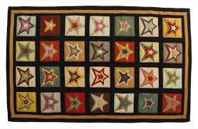 penny rugs star sampler by homespice decor