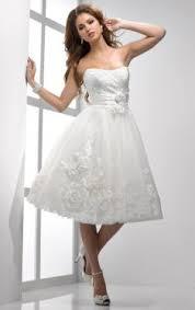 cheap tea length wedding dresses free tailor made service