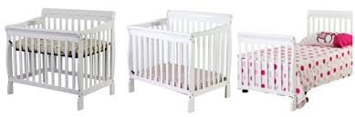 Mini Convertible Cribs On Me 3 In 1 Aden Convertible Mini Crib 117 61 Shipped