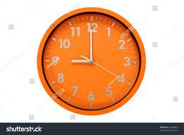 beautiful clock on wall 9 pm stock photo 86566864 shutterstock