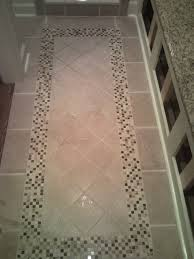 tile floor with inlaid design design ideas vinyl sheet flooring