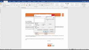 Business Letter Heading by Cis 101 Word 3 Orange Whisk Business Letter Youtube