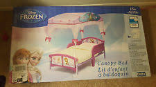 Frozen Canopy Bed Disney Frozen Canopy Toddler Bed In Original Ebay