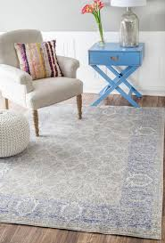 Rugs At Ikea by Flooring Blue Nuloom Rugs With Beige Wingback Chair And Ikea Side