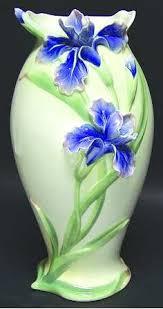 Franz Butterfly Vase Fz03277 Franz Porcelain Companion Heng Chun Birdwing Butterfly