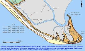 hurst map hurst spit and milford on sea geology and geomorphology