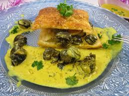 cuisiner des escargots recette feuilleté d escargots aux épices recettes