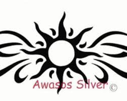 tribal sun etsy