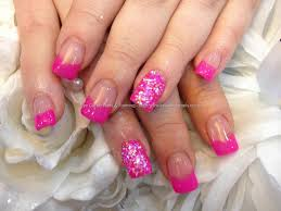 eye candy nails u0026 training full set of acrylic nails with pink