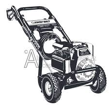 020241 0 troy bilt 2600 psi high pressure washer