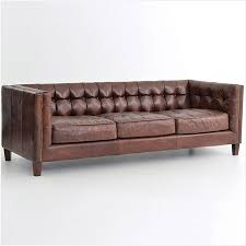 Tufted Leather Sofas Leather Sofa Tufted Best Of Abbott Vintage Cigar Tufted
