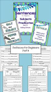 Worksheets On Subjects And Predicates 261 Best Learning Strategies1 Images On Pinterest Subject And