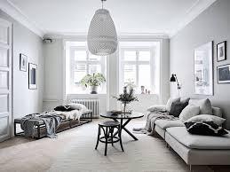 Scandinavian Livingroom An Airy And Bright Scandinavian Apartment In Grey U0026 Black