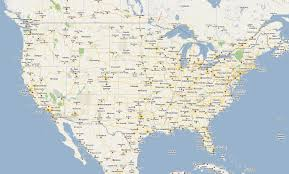 Usa Highway Map Road Map Of North America Ezilon Maps Road Map Of North America
