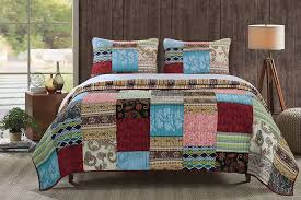 bedroom charming king size quilts for modern bedroom decorating