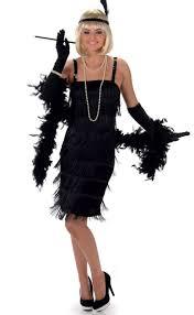 halloween 1920s costumes black flapper women u0027s 1920 u0027s costume women u0027s black gatsby costume