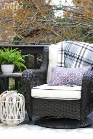 Patio Spring Chair by Spring Deck Refresh U0026 Outdoor Living Update Making Lemonade