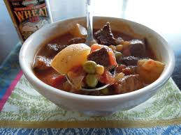 vegetable beef soup a balanced life cooks