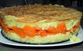 cuisiner des carottes en rondelles recette de gâteau de pomme de terre fourré aux rondelles de carottes