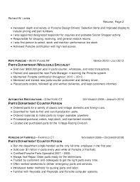 Resume First Person Richard Landa Resume
