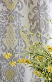 Yellow Gray Curtains with Did You Miss Me Thistlewood Farm