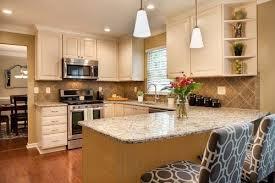 kitchen peninsula cabinets painting a peninsula hometalk