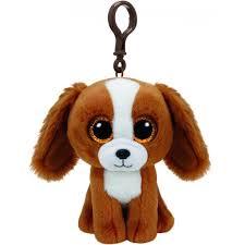 beanie boos dog plush keychain 8 5 cm keyrings photopoint