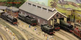 garden railway layouts model railway layouts of pecorama u2013 part 1 loco yard