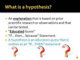 introduction to science the scientific method ppt