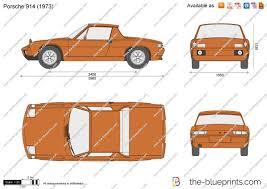 porsche cartoon drawing the blueprints com vector drawing porsche 914