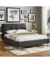 Quilted Headboard Bed Shopping Deals On Dallan King Size Plush Tufted Linen