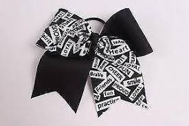 african american cheer hair bows cheer bows hair accessories ebay