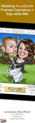signable wedding platters caricature your photo singing in the caricature wedding