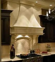 Kitchen Hood Designs Cast Stone Vent Hood Love Kitchen Breakfast Nook And Bar