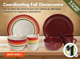 dollar tree happy fall shop 1 autumn dinnerware more milled