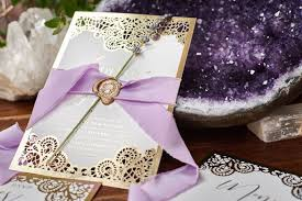 lavender wedding invitations a luxe boho lavender wedding with adorn invitations