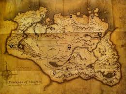 Elder Scrolls Map Elder Scrolls Skyrim A Better Video Game Blog