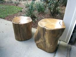 tree trunk end table interior side table tree stump full size of furniture made tables